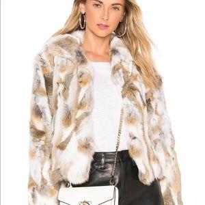 Adrienne Landeau Fur Jacket